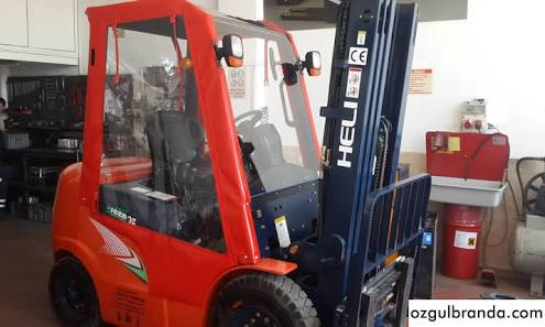 Forklift Brandası